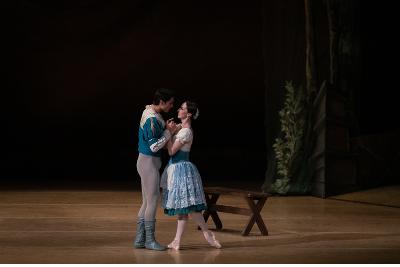 Blanca Rios en Giselle de la Compania Nacional de Danza. Palacio de Bellas Artes, mayo 2019. Foto Paulo Garcia