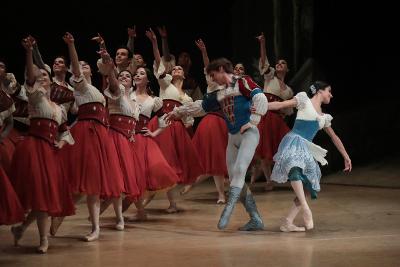 Compania Nacional de Danza presenta Giselle. Palacio de Bellas Artes, mayo 2019. Foto Alfredo Millan