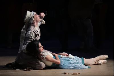 Blanca Rios en Giselle de la Compania Nacional de Danza. Palacio de Bellas Artes, mayo 2019. Foto Alfredo Millan
