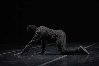 Kitt Johnson presento Post no Bills en el Teatro de la Danza Guillermina Bravo, mayo 2019. Foto Emmanuel Adamez