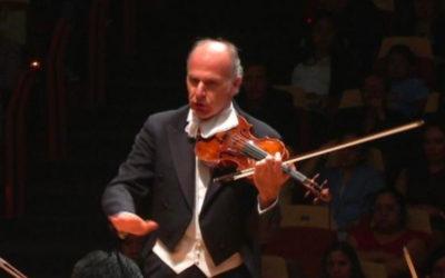 Massimo Quarta, director artistico de la Orquesta Filarmonica de la UNAM. Sala Nezahualcoyotl, mayo 2019