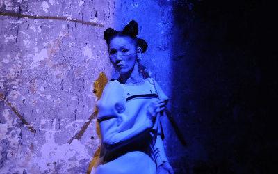 Minako Seki se presento en la tercera edicion de Cuerpos en Revuelta. Teatro de la Danza, mayo 2019