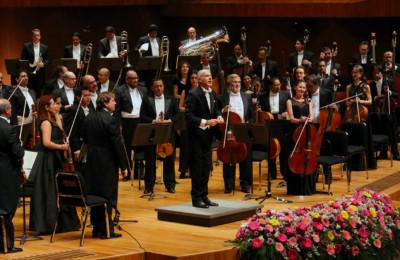 Orquesta Filarmonica de la UNAM dirigida  por Massimo Quarta. Segunda Temporada 2019 en la Sala Nezahualcoyotl