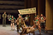 Rentas congeladas, direccion de Mario Espinosa, se presenta en el Teatro Julio Castillo, mayo 2019. Foto Mauricio Galvez