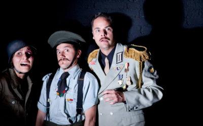 Guerra a clown play, produccion de la Piara, se presenta en el Teatro Milan, junio 2019