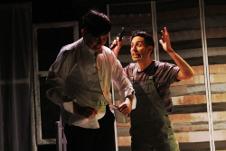 Los hombres lobo viven en mi closet, dirigida por Juan Carlos Roldan, se presenta en el Foro La Gruta del Helenico, junio 209. Foto Betsy Leany