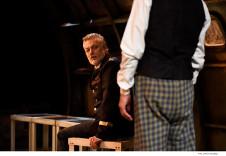 Arturo Rios actua en Sepulturas, un texto de Hugo Alfredo Hinojosa con direccion de Emma Dib, que se presenta en el Teatro Santa Catarina, junio 2019. Foto Daniel Gonzalez