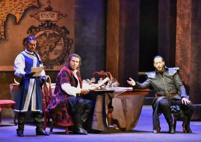 Otello, con la direccion de Gavriel Heine se presenta en el Palacio de Bellas Artes, julio 2019. Foto Edgar Ruiz.