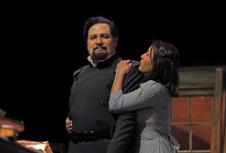 Compania Nacional de Teatro presenta  El padre, direccion  Raul Quintanilla. Sala Hector Mendoza, julio 2019. Sergio Carreon Ireta