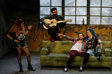 Compania Nacional de Teatro lleva a escena Valentino Clemens..., dirigida por Mahalat Sanchez. Centro Cultural Helenico, julio 2019. Foto Rodrigo Becerra.