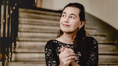 Lilya Zilberstein, solista invitada a la Temporada Verano 2019 de la Orquesta Sinfonica de Mineria. Sala Nezhualcoyotl, julio 2019