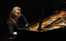Lilya Zilberstein, piano, solista invitada en la Temporada Verano 2019 de la Orquesta Sinfonica de Mineria. Sala Nezhualcoyotl, julio 2019
