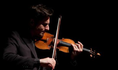 Philippe Quint, solista invitado a la Temporada Verano 2019 de la Orquesta Sinfonica de Mineria. Sala Nezhualcoyotl, julio 2019