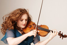 Rachel Barton Pine, solista invitada de la Orquesta Sinfonica de Mineria, Sala Nezahualcoyotl, julio 2019. Foto Lisa Marie Mazzucco
