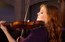 Rachel Barton Pine, violin, solista invitada en la Temporada Verano 2019 de la Orquesta Sinfonica de Mineria. Sala Nezhualcoyotl, julio 2019