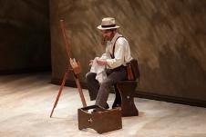 Mario Ivan Martinez, dirigido por Luly Rede lleva a escena Vincent, girasoles contra el mundo, Helenico julio 2019
