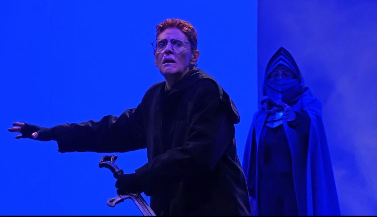 Compania Nacional de Teatro presenta La tragica historia de Hamlet. Teatro Julio Castillo, agosto 2109. Foto Jorge Carreon Ireta.
