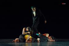 DramaDanza se presenta en la Temporada de Danza en el Palacio de Bellas Artes, agosto 2019. Foto Ernesto Reynoso