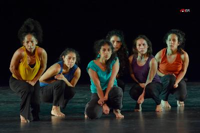 DramaDanza  se presenta en Danza en el Palacio agosto 2019. Foto Ernesto Reynoso.