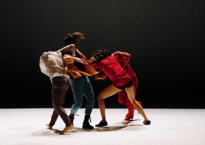 Pendulo Cero se presenta en Danza en el Palacio, agosto 2019. Foto Gabino Guerrero