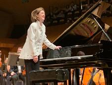 Anne Marie McDermott, se presento con la Orquesta Sinfonica de Mineria. Sala Nezahualcoyotl, agosto 2019