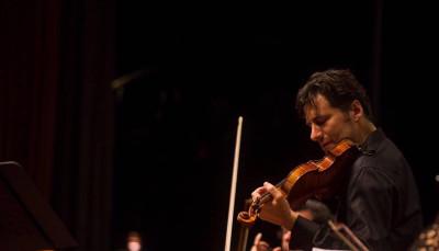 Philippe Quint se presento con la Orquesta Sinfonica de Mineria, agosto 2019