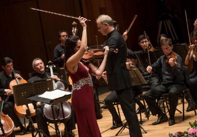Shari Mason, se presento con la Orquesta Sinfonica de Mineria, agosto 2019