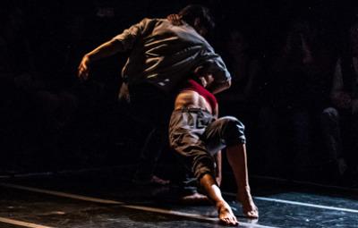 Between Us de Francisco Cordova. Compania Nacional de Danza. Foro Apoco No, septiembre 2019. Foto Nath Martin.