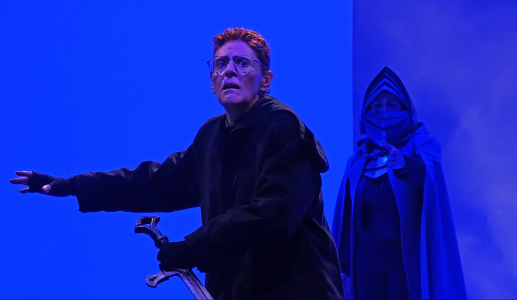 La trágica historia de Hamlet, produccion de la Compania Nacional de Teatro y direccion de Jose Caballero. Teatro Julio Castillo, septiembre 2019. Foto Sergio Carreon Ireta