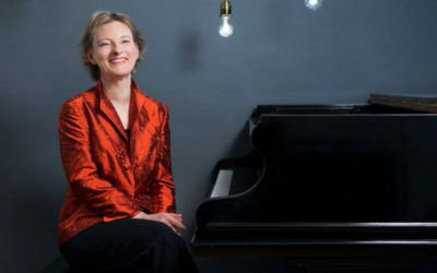 Corinna Simon se presenta en el Festival Internacional de Piano En Blanco y Negro, Cenart, septiembre 2019. Foto Daniel Pasche.