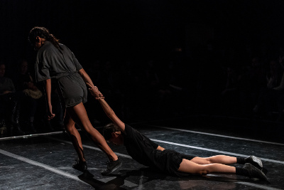 Huma, de Melva Rodriguez. Compania Nacional de Danza. Foro Apoco No, septiembre 2019. Foto Nath Martin.