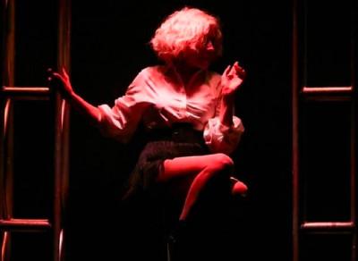 Nacha Guevara se presenta en el Teatro de la Ciudad Esperanza Iris, septiembre 2019