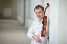 Nikita Boriso-Glebsky, violin, solista invitado de la Orquesta Sinfonica Nacional dirigida por Carlos Miguel Prieto. Palacio de Bellas Artes, septiembre 2019
