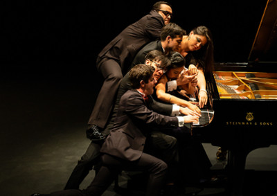 Teatro de Ciertos Habitante presenta Triple Concierto en el Festival Impulsao de la UNAM: Teatro Juan Ruiz de Alaracon, septiembre 2019