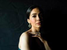 Guadalupe Paz, mezzosoprano, se presenta con la Orquesta Sinfonica Nacional. Palacio de Bellas Artes, octubre 2019