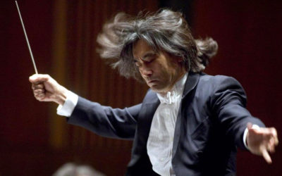 Kent Naagano , director de la Orquesta Sinfonica de Montreal. Festival Internacional Cervantino 2019.