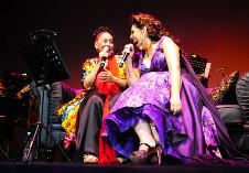 Omara Portuondo y Regina Orozco se presentan en el Palacio de Bellas Artes. Festival Internacional Cervantino 2019