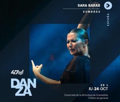 Sara Baras presenta Sombras en el Festival Internacional Cervantino 2019
