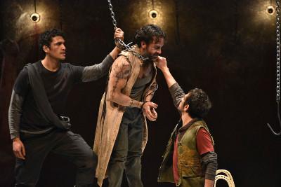 Titus de William Shakespeare, adaptacion y direccion de Angelica Rogel, se presenta en el Centro Cultural Helenico, septiembre 2019. Foto Einar Gonzalez