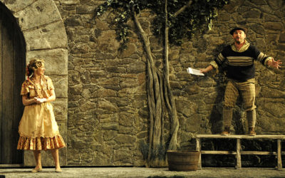 El caserio, puesta en escena de Pablo Viar, se presenta en el Teatro de la Zarzuela. Madrid, octubre 2019. Foto Enrique Moreno Esquibel