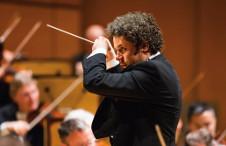 Gustavo Dudamel dirige a la Filarmonica de Los Angeles en su presentacion en el Palacio de Bellas Artes y en el Auditorio Nacional, noviembre 2019