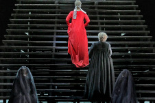 Diana Damrau en Maria Stuarda de Gaetano Donizetti. Opera Met en el Auditorio Nacional Temporada 2019- 2020.  Foto Ken Howard