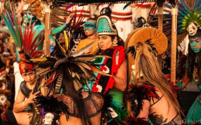 Motecuhzoma II, Zocalo Nov 2019 de Samuel Maynez Champion se presenta en el Zocalo de la Ciudad de Mexico, noviembre 2019. Foto Sandra G. Ordoneza