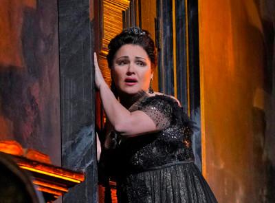 Anna Netrebko actua en Tosca de Puccini. Opera Met en el Auditorio Nacional Temporada 2019-2020.  Foto Ken Howard
