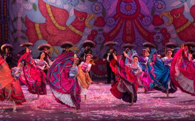 Ballet Folklorico de Mexico de Amalia Hernandez presenta Asi te abraza Mexico en el Castillo de Chapultepec, diciembre 2019