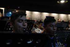 Banda Filarmonica del CECAM y el Ballet Foklorico de Mexico de Amalia Hernandez presentan La Calenda en el Palacio de Bellas Artes, diciembre 2019