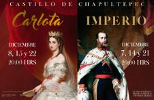 Carlota e Impeario, dos obras de Rodrigo Gonzales, se presentan en el Castillo Chapultepec, diciembre 2019