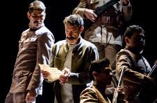 Felipe Angeles, dirigida por Rodolfo Guerrero, se presenta en el Teatro Juan Manuel Calleja, diciembre 2019. Foto Gerardo Castillo Isoptica.