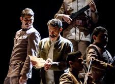Felipe Angeles, dirigida por Rodolfo Guerrero, se presenta en el Teatro Juan Manuel Calleja, diciembre 2019. Foto Gerardo Castillo isoptica