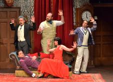 La obra que todo sale mal se presenta en el Teatro Aldama, diciembre 2019